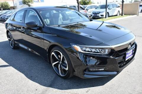 2020 Honda Accord for sale at DIAMOND VALLEY HONDA in Hemet CA