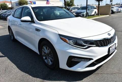 2019 Kia Optima for sale at DIAMOND VALLEY HONDA in Hemet CA