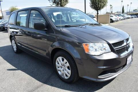 2015 Dodge Grand Caravan for sale at DIAMOND VALLEY HONDA in Hemet CA