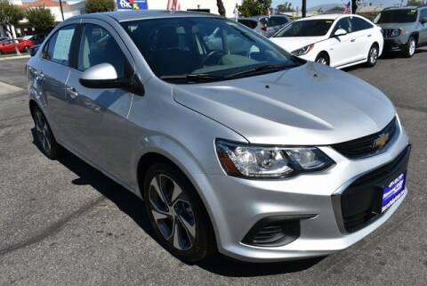 2018 Chevrolet Sonic for sale at DIAMOND VALLEY HONDA in Hemet CA