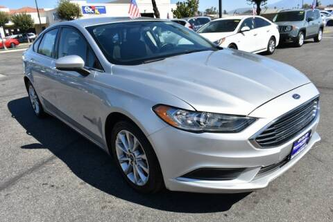 2017 Ford Fusion Hybrid for sale at DIAMOND VALLEY HONDA in Hemet CA