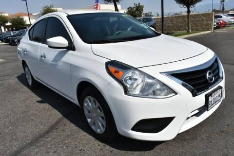 2016 Nissan Versa for sale at DIAMOND VALLEY HONDA in Hemet CA