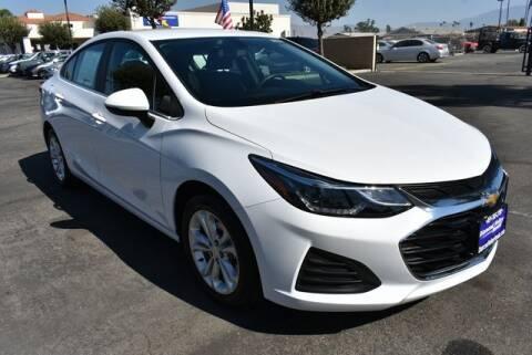 2019 Chevrolet Cruze for sale at DIAMOND VALLEY HONDA in Hemet CA