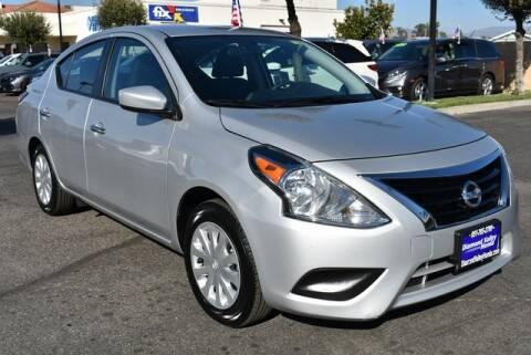 2019 Nissan Versa for sale at DIAMOND VALLEY HONDA in Hemet CA