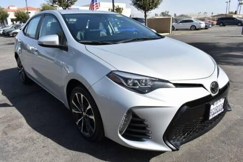 2019 Toyota Corolla for sale at DIAMOND VALLEY HONDA in Hemet CA