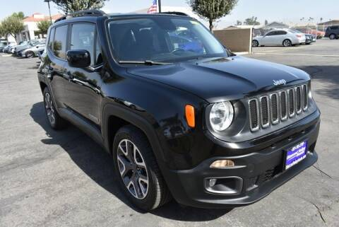 2016 Jeep Renegade for sale at DIAMOND VALLEY HONDA in Hemet CA