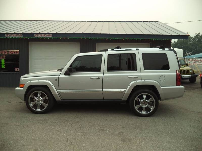 2006 Jeep Commander for sale at Jim's Auto Sales in Cashmere WA