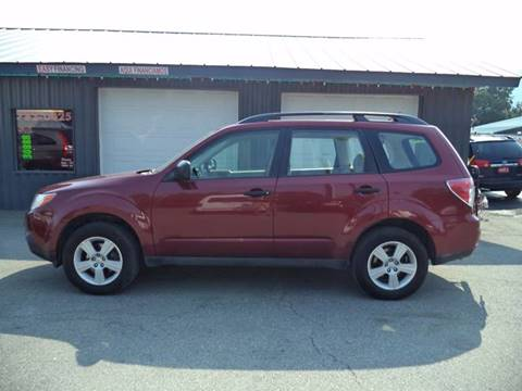 2010 Subaru Forester for sale at Jim's Auto Sales in Cashmere WA