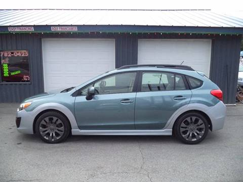 2012 Subaru Impreza for sale at Jim's Auto Sales in Cashmere WA