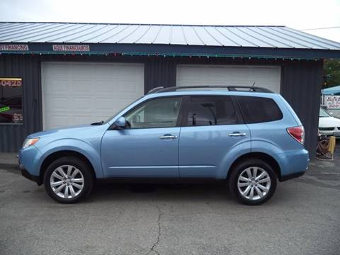 2011 Subaru Forester for sale at Jim's Auto Sales in Cashmere WA