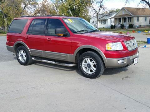 2003 Ford Expedition for sale at ALEMAN AUTO INC in Norfolk NE