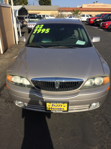 2002 Lincoln LS Base 4dr Sedan - Santa Maria CA