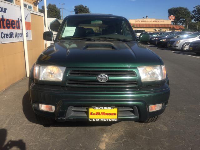 2000 Toyota 4Runner SR5 4dr SUV - Santa Maria CA