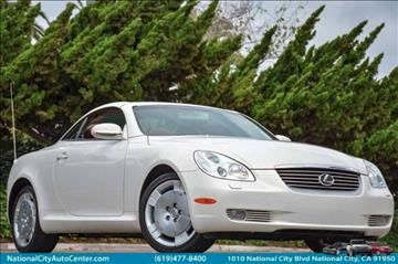 2002 Lexus SC 430 for sale in National City, CA