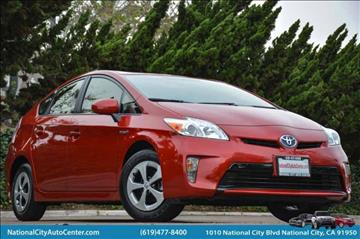 2014 Toyota Prius for sale in National City, CA