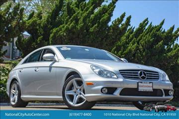 2008 Mercedes-Benz CLS for sale in National City, CA