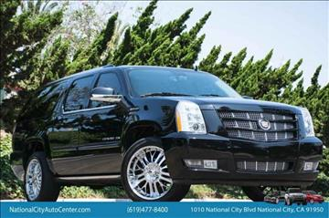 2013 Cadillac Escalade ESV for sale in National City, CA