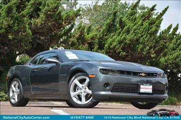 2015 Chevrolet Camaro for sale at NATIONAL CITY AUTO CENTER INC in National City CA