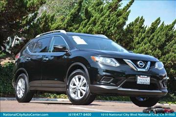 2014 Nissan Rogue for sale at NATIONAL CITY AUTO CENTER INC in National City CA