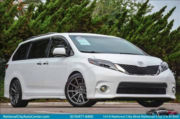 2015 Toyota Sienna for sale at NATIONAL CITY AUTO CENTER INC in National City CA