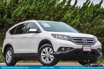 2014 Honda CR-V for sale at NATIONAL CITY AUTO CENTER INC in National City CA