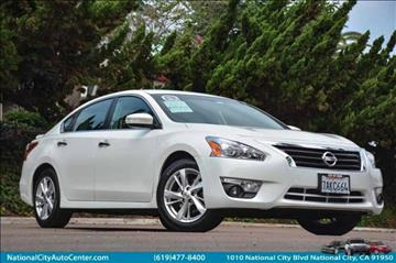 2013 Nissan Altima for sale at NATIONAL CITY AUTO CENTER INC in National City CA