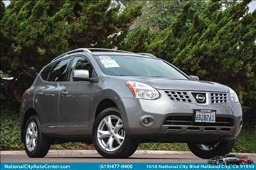 2008 Nissan Rogue for sale at NATIONAL CITY AUTO CENTER INC in National City CA