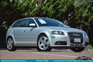 2006 Audi A3 for sale at NATIONAL CITY AUTO CENTER INC in National City CA