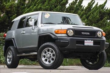 2011 Toyota FJ Cruiser for sale at NATIONAL CITY AUTO CENTER INC in National City CA