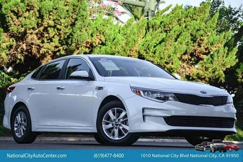 2016 Kia Optima for sale at NATIONAL CITY AUTO CENTER INC in National City CA