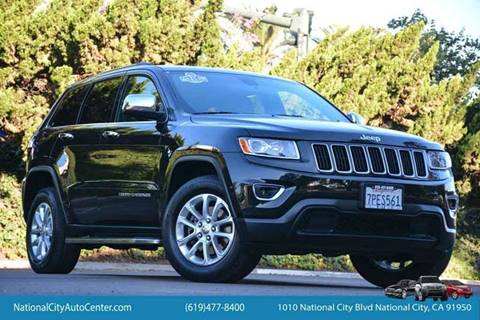 2014 Jeep Grand Cherokee for sale at NATIONAL CITY AUTO CENTER INC in National City CA
