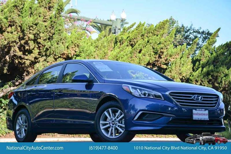 2016 Hyundai Sonata for sale at NATIONAL CITY AUTO CENTER INC in National City CA