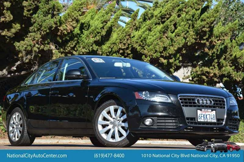 2009 Audi A4 for sale at NATIONAL CITY AUTO CENTER INC in National City CA