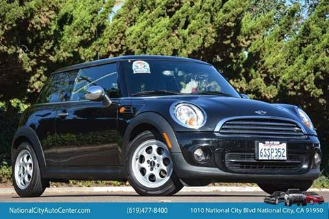 2012 MINI Cooper Hardtop for sale at NATIONAL CITY AUTO CENTER INC in National City CA