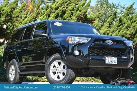 2015 Toyota 4Runner for sale at NATIONAL CITY AUTO CENTER INC in National City CA