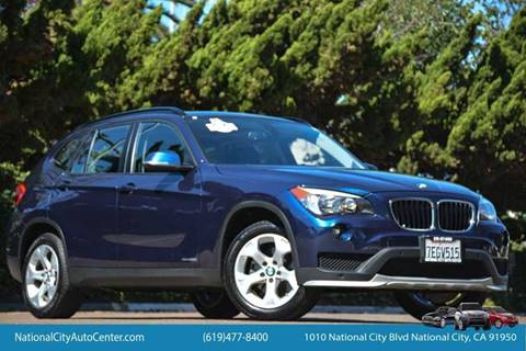 2015 BMW X1 for sale at NATIONAL CITY AUTO CENTER INC in National City CA