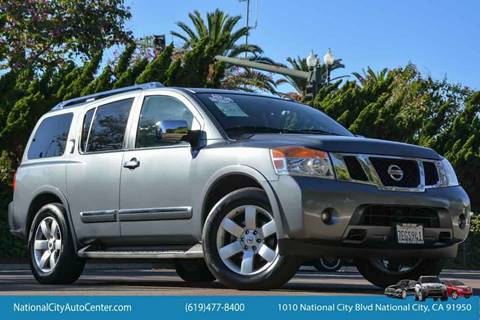 2013 Nissan Armada for sale in National City, CA