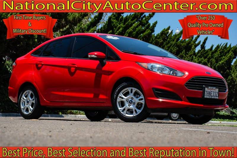 National City Auto Center >> 2014 Ford Fiesta Se In National City Ca National City Auto Center Inc