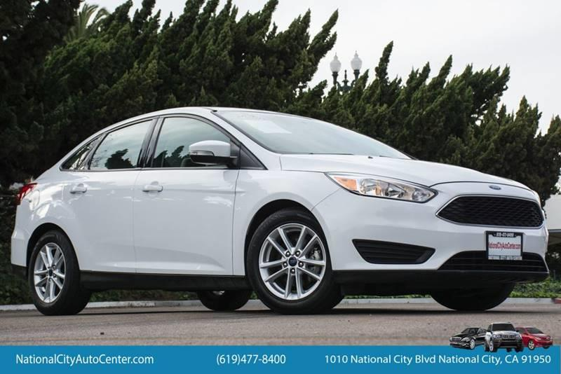National City Auto Center >> 2016 Ford Focus Se In National City Ca National City Auto Center Inc