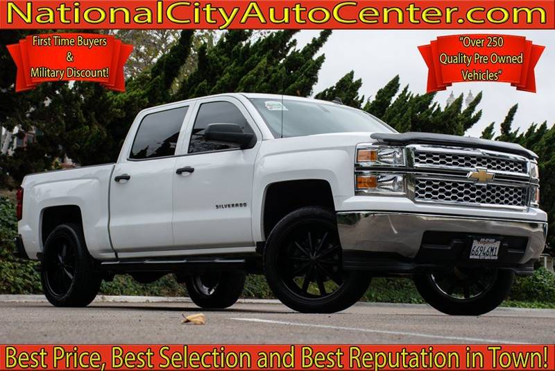 2014 Chevrolet Silverado 1500 For Sale At NATIONAL CITY AUTO CENTER INC In  National City CA