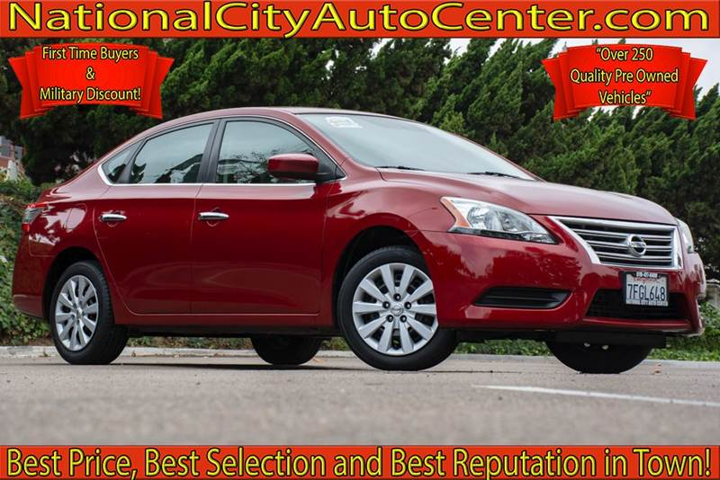 2014 Nissan Sentra For Sale At NATIONAL CITY AUTO CENTER INC In National  City CA