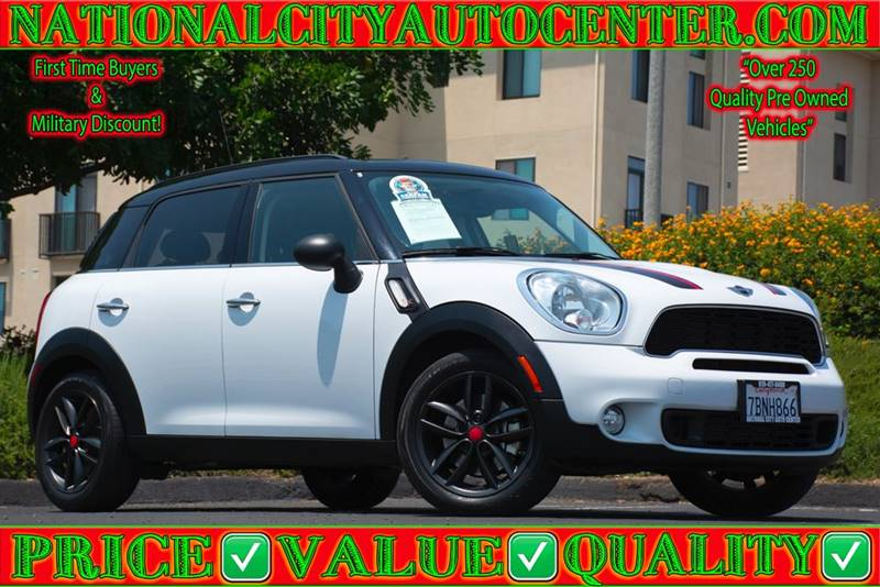 2013 Mini Countryman Cooper S In National City Ca National City