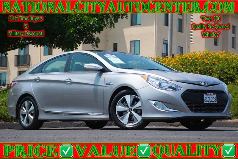 2012 Hyundai Sonata Hybrid For Sale At NATIONAL CITY AUTO CENTER INC In  National City CA