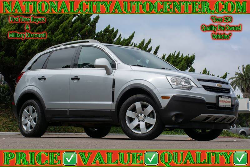 2012 Chevrolet Captiva Sport For Sale At NATIONAL CITY AUTO CENTER INC In  National City CA