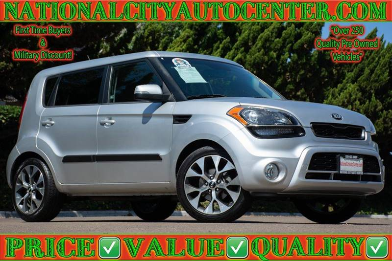 2013 Kia Soul For Sale At NATIONAL CITY AUTO CENTER INC In National City CA