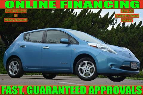National City Auto Center >> Nissan Leaf For Sale In National City Ca National City