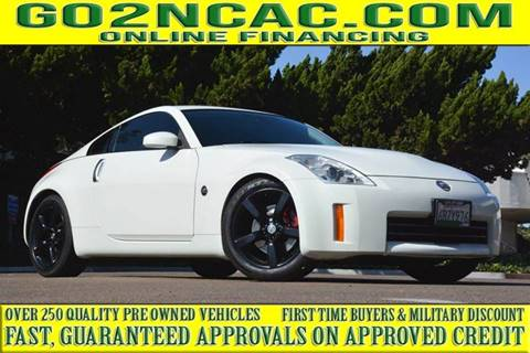 Nissan Chula Vista >> 2008 Nissan 350z For Sale In National City Ca