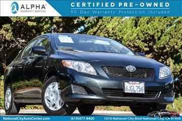 2010 Toyota Corolla for sale in National City, CA