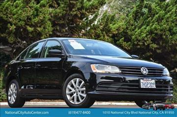 2015 Volkswagen Jetta for sale in National City, CA
