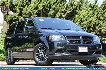 2016 Dodge Grand Caravan for sale in National City, CA